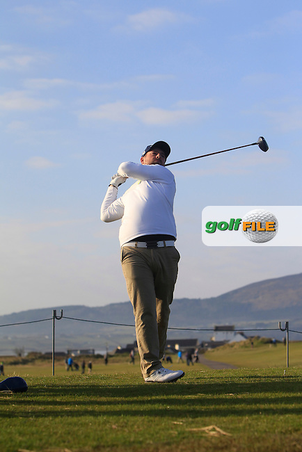 Richard Bridges (Stackstown) during Matchplay Semi-Finals on April 7th 2015 for the 2015 West of Ireland Open Championship, Co. Sligo, Golf Club, Rosses Point, Sligo, Ireland.<br /> Picture: Thos Caffrey / Golffile