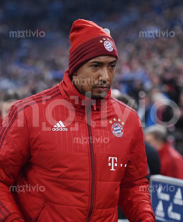 Fussball  1. Bundesliga  Saison 2015/2016  13. Spieltag in Gelsenkirchen FC Schalke 04 - FC Bayern Muenchen     21.11.2015 Jerome Boateng (FC Bayern Muenchen)