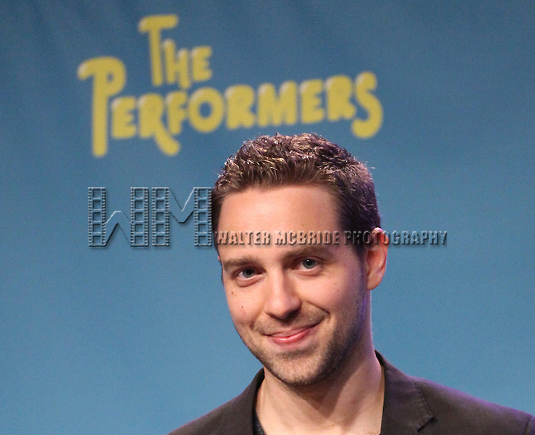 "Playwright David West Read attends press event to introduce the cast and creators of the new Broadway play ""The Performers""at the Hard Rock Cafe on Tuesday, Sept. 25, 2012 in New York."