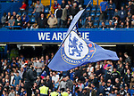 Chelsea falls flying before the game during the premier league match at Stamford Bridge Stadium, London. Picture date 17th September 2017. Picture credit should read: David Klein/Sportimage