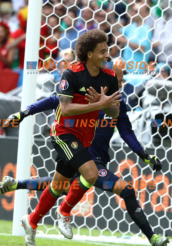 Axel Witsel celebrating after the goal of 2-0 esultanza<br />