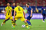 Manchester United forward Juan Mata (r) during the International Champions Cup China 2016, match between Manchester United vs Borussia  Dortmund on 22 July 2016 held at the Shanghai Stadium in Shanghai, China. Photo by Marcio Machado / Power Sport Images