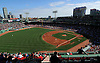 Boston, MA - September 10, 2014: Boston Red Sox vs. Baltimore Orioles MLB at Fenway Park