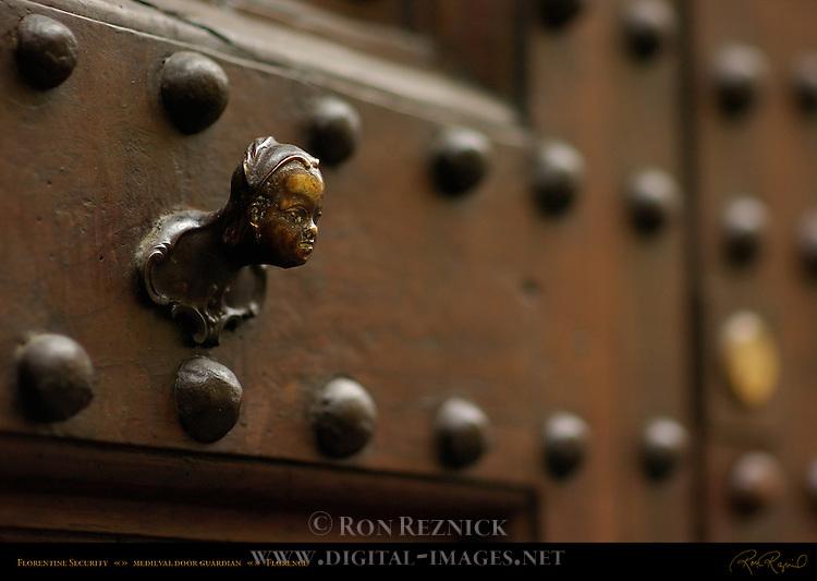 Florentine Door Guardian Medieval Sprite Florence