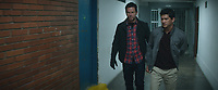 Mile 22 (2018) <br /> Mark Wahlberg &amp; Iko Uwais<br /> *Filmstill - Editorial Use Only*<br /> CAP/MFS<br /> Image supplied by Capital Pictures