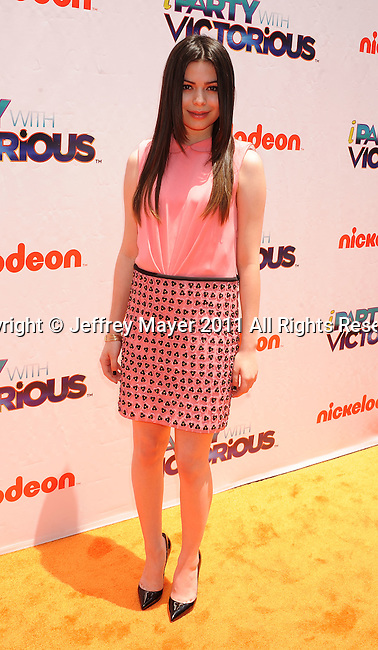 "=West Hollywood=, CA - =June= 04: Miranda Cosgrove attends Nickelodeon's ""iParty With Victorious"" screening at The Lot on June 4, 2011 in West Hollywood, California."