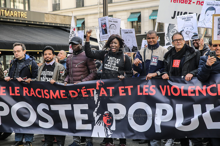 Manifestazione per il clima Manifestazione di solidarietà sans papier e antirazzismo insieme alla manifestazione per il clima