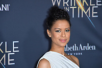 Gugu Mbatha-Raw  at the premiere for &quot;A Wrinkle in Time&quot; at the El Capitan Theatre, Los Angeles, USA 26 Feb. 2018<br /> Picture: Paul Smith/Featureflash/SilverHub 0208 004 5359 sales@silverhubmedia.com