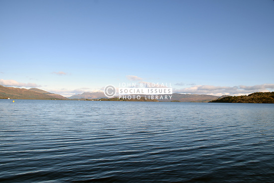 Loch Lomond - snow on Ben Lomond in the background, Scotland