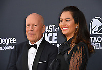 LOS ANGELES, CA - July 14, 2018: Bruce Willis &amp; Emma Heming at the Comedy Central Roast of Bruce Willis at the Hollywood Palladium<br /> Picture: Paul Smith/Featureflash.com