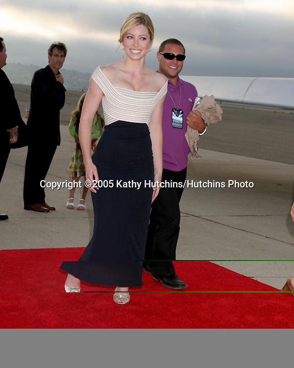 "Jessica Biel.World Premiere of ""Stealth"".Coronado Naval Base.San Diego, CA.July 17, 2005.©2005 Kathy Hutchins/Hutchins Photo...."