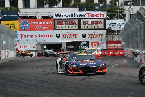 2017 Pirelli World Challenge<br /> Toyota Grand Prix of Long Beach<br /> Streets of Long Beach, CA USA<br /> Sunday 9 April 2017<br /> Peter Kox<br /> World Copyright: Richard Dole/LAT Images<br /> ref: Digital Image RD_LB17_475