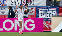 CARSON, CA - FEBRUARY 9: Jessica McDonald #14 of the United States during a game between Canada and USWNT at Dignity Health Sports Park on February 9, 2020 in Carson, California.
