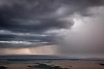Kenya, Maasai Mara National Reserve, rain storm