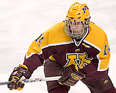 The University of Minnesota Golden Gophers defeated the University of North Dakota Fighting Sioux 4-3 on Saturday, December 10, 2005 completing a weekend sweep of the Fighting Sioux at the Ralph Engelstad Arena in Grand Forks, North Dakota.