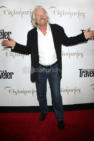 NEW YORK, NY - SEPTEMBER 18: Sir Richard Branson at the Conde Nast Traveler Celebration of 'The Visionaries' and 25 Years of Truth In Travel at Alice Tully Hall on September 18, 2012 in New York City. © RW/MediaPunch Inc.