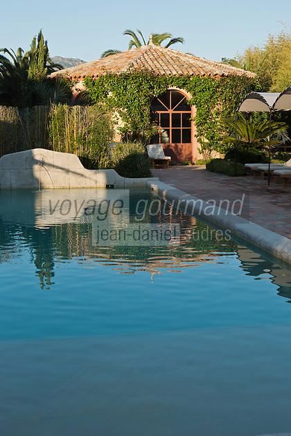 Europe/France/2B/Haute Corse/Balagne/Calvi: Hôtel-Restaurant: La Signoria - La piscine [Non destiné à un usage publicitaire - Not intended for an advertising use]