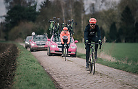 Taylor Phinney (USA/Education First-Drapac)<br /> <br /> parcours recon of the 116th Paris-Roubaix 2018, 3 days prior to the race
