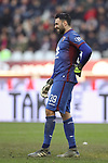Salvatore Sirigu of Torino FC grimaces as he touches his back during the Serie A match at Stadio Grande Torino, Turin. Picture date: 12th January 2020. Picture credit should read: Jonathan Moscrop/Sportimage