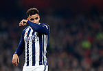 West Brom's Hal Robson-Kanu in action during the premier league match at the Emirates Stadium, London. Picture date 25th September 2017. Picture credit should read: David Klein/Sportimage