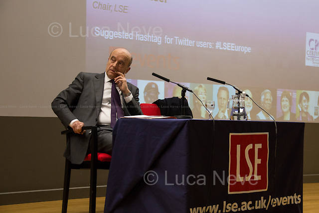 Alain Jupp&eacute; (Mayor of Bordeaux, former Prime Minister of France).<br />