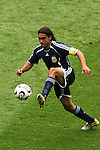 30 June 2006: Juan Sorin (ARG). Germany tied Argentina 1-1 at the Olympiastadion in Berlin, Germany in match 57, a Quarterfinal game in the 2006 FIFA World Cup. Germany advanced on Penalty Kicks, 4-2.
