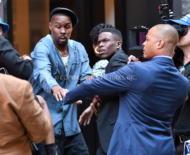 www.acepixs.com<br /> <br /> October 7 2016, New York City<br /> <br /> Rapper T.I. was on the set of the TV show 'The Breaks' on October 7 2016 in New York City<br /> <br /> By Line: Curtis Means/ACE Pictures<br /> <br /> <br /> ACE Pictures Inc<br /> Tel: 6467670430<br /> Email: info@acepixs.com<br /> www.acepixs.com