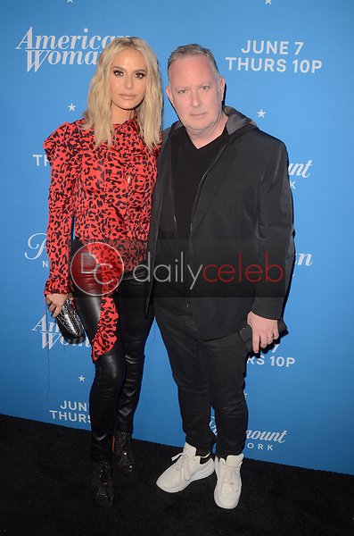 "Dorit Kemsley, Paul Kemsley<br /> at the ""American Woman"" Premiere Party, Chateau Marmont, Los Angeles, CA 05-31-18<br /> David Edwards/DailyCeleb.com 818-249-4998"