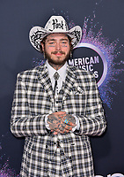 LOS ANGELES, USA. November 25, 2019: Post Malone at the 2019 American Music Awards at the Microsoft Theatre LA Live.<br /> Picture: Paul Smith/Featureflash