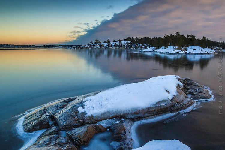Ny blank is på fjärden vid Tyresö-Brevik i Stockholms skärgård