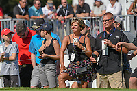 Avid golf fans await Tiger Woods' (USA) arrival at the 17th tee during 3rd round of the World Golf Championships - Bridgestone Invitational, at the Firestone Country Club, Akron, Ohio. 8/4/2018.<br /> Picture: Golffile | Ken Murray<br /> <br /> <br /> All photo usage must carry mandatory copyright credit (© Golffile | Ken Murray)