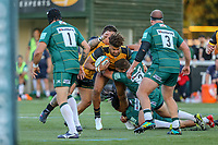 Guy Armitage of Ealing Trailfinders during the Greene King IPA Championship match between Ealing Trailfinders and London Irish Rugby Football Club  at Castle Bar, West Ealing, England  on 1 September 2018. Photo by David Horn.