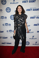 LOS ANGELES, CA - NOVEMBER 7: Lisa Edelstein, at Photo Op For Hulu's 'Obey Giant at the The Theatre at Ace Hotel in Los Angeles, California on November 7, 2017. Credit: Faye Sadou/MediaPunch