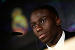 Real Madrid's new player Ferland Mendy during his official presentation. June 19, 2019. (ALTERPHOTOS/Acero)
