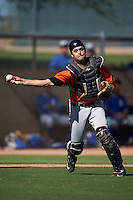 San Francisco Giants Bryan Case (13) during an instructional league game against the Kansas City Royals on October 23, 2015 at the Papago Baseball Facility in Phoenix, Arizona.  (Mike Janes/Four Seam Images)