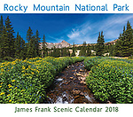 2018 Rocky Mountain National Park Calendar