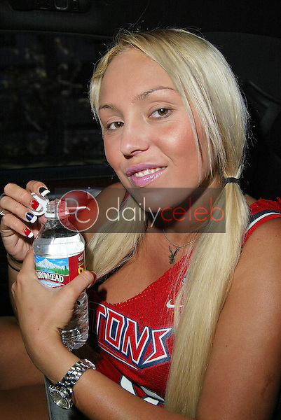 """Mary Carey in the limo going to """"Countdown with Keith Olbermann""""<br /> on the set of MSNBC's """"Countdown wirth Keith Olbermann"""" to anounce her intention to run for California Lieutenant Governor, NBC Studios, Burbank, CA 06-21-05<br /> EXCLUSIVE<br /> <br /> David Edwards/DailyCeleb.Com 818-249-4998"""