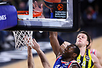 Turkish Airlines Euroleague.<br /> Final Four - Vitoria-Gasteiz 2019.<br /> Semifinals.<br /> Fenerbahce Beko Istanbul vs Anadolu Efes Istanbul: 73-92.<br /> Bryant Dunston vs Jan Vasely.