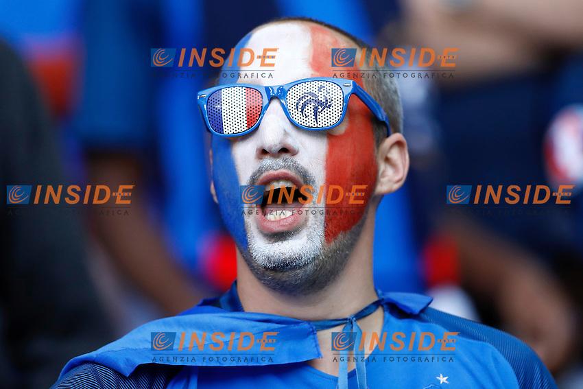 Tifosi France Fans France <br /> Lille 19-06-2016 Stade de Pierre Mauroy Footballl Euro2016 Switzerland - France / Svizzera - Francia Group Stage Group A. Foto Matteo Ciambelli / Insidefoto
