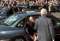 FILE PHOTO -  Robert Bourassa Funerals at Notre-Dame Basilica, October 20, 1996.<br /> <br /> PHOTO : Agence quebec Presse