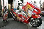 """Gambler"", Yamaha T-Max 500 ( Bell Custom )."