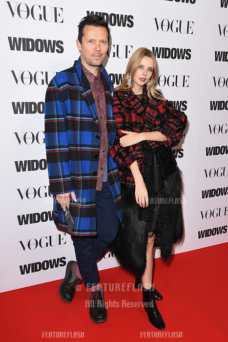 LONDON, UK. October 31, 2018: Greta Bellamacina at the &quot;Widows&quot; special screening in association with Vogue at the Tate Modern, London.<br /> Picture: Steve Vas/Featureflash