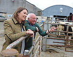 30/8/2014   Alison Hunt, manager, Cashel Mart withWillie Ryan, Fethard, Tipperary.<br /> Picture: Liam Burke/Press 22