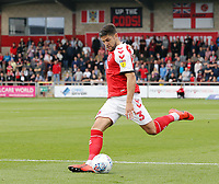 Fleetwood Town's Danny Andrew<br /> <br /> Photographer Rich Linley/CameraSport<br /> <br /> The EFL Sky Bet League One - Fleetwood Town v Oxford United - Saturday 7th September 2019 - Highbury Stadium - Fleetwood<br /> <br /> World Copyright © 2019 CameraSport. All rights reserved. 43 Linden Ave. Countesthorpe. Leicester. England. LE8 5PG - Tel: +44 (0) 116 277 4147 - admin@camerasport.com - www.camerasport.com