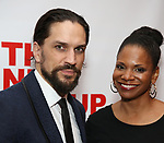 "Will Swenson and Audra McDonald attends the Off-Broadway Opening Night Premiere of  ""Jerry Springer-The Opera"" on February 22, 2018 at the Roundabout Rehearsal Studios in New York City."