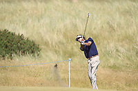 Pedro Oriol (ESP) on the 15th during the Preview of the Irish Open at Ballyliffin Golf Club, Donegal on Tuesday 3rd July 2018.<br /> Picture:  Thos Caffrey / Golffile
