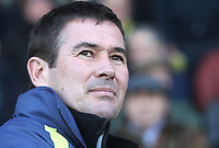 Burton Albion's Manager Nigel Clough<br /> <br /> Photographer Mick Walker/CameraSport<br /> <br /> The EFL Sky Bet League One - Burton Albion v Coventry City - Saturday 17th November 2018 - Pirelli Stadium - Burton upon Trent<br /> <br /> World Copyright &copy; 2018 CameraSport. All rights reserved. 43 Linden Ave. Countesthorpe. Leicester. England. LE8 5PG - Tel: +44 (0) 116 277 4147 - admin@camerasport.com - www.camerasport.com