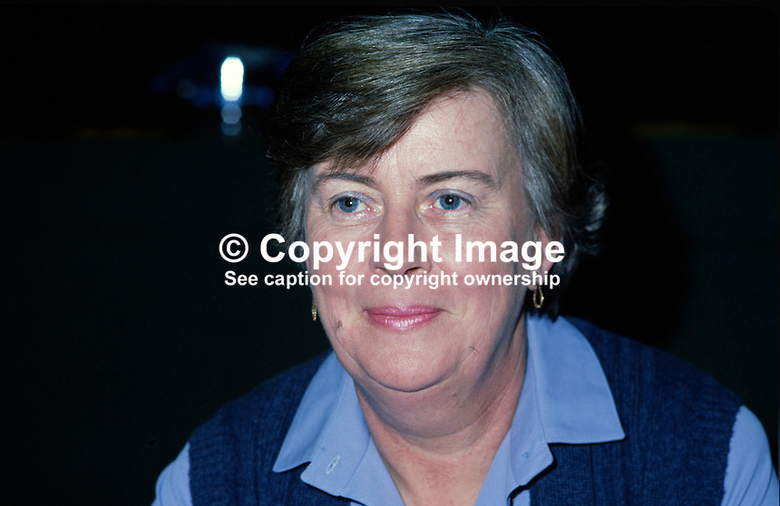 Berna McIvor, treasurer, SDLP, Social Democratic & Labour Party, N Ireland, UK, 198011000352a..Copyright Image from Victor Patterson, 54 Dorchester Park, Belfast, UK, BT9 6RJ..Tel: +44 28 9066 1296.Mob: +44 7802 353836.Voicemail +44 20 8816 7153.Skype: victorpattersonbelfast.Email: victorpatterson@mac.com.Email: victorpatterson@ireland.com (back-up)..IMPORTANT: If you wish to use this image or any other of my images please go to www.victorpatterson.com and click on the Terms & Conditions. Then contact me by email or phone with the reference number(s) of the image(s) concerned.