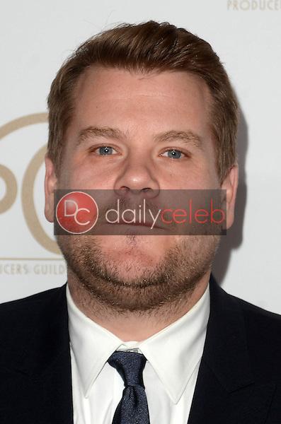 James Corden<br /> at the 2017 Producers Guild Awards, Beverly Hilton Hotel, Beverly Hills, CA 01-28-17<br /> David Edwards/DailyCeleb.com 818-249-4998