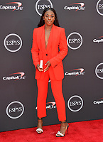Sloane Stephens at the 2018 ESPY Awards at the Microsoft Theatre LA Live, Los Angeles, USA 18 July 2018<br /> Picture: Paul Smith/Featureflash/SilverHub 0208 004 5359 sales@silverhubmedia.com